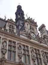Some detail of l'Hôtel de Ville