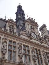 Some detail of l'Hôtel de Ville