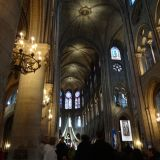 Interior architecture of Notre Dame