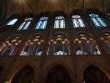 Interior architecture of Notre Dame