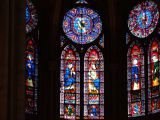 Glass art in the Notre Dame