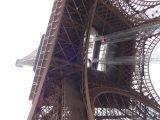 Eiffel Tower from below