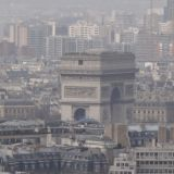 l'Arc de Triomphe as seen from the Eiffel Tower