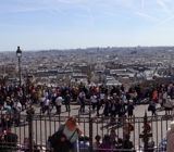 Panoramic of Paris from the Basilique du Sacré-Coeur