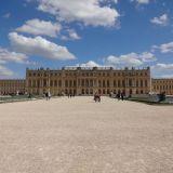 Château de Versailles from behind
