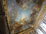 Ceiling of one of the rooms in the Château de Versailles