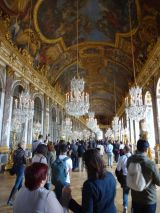 Hall of Mirrors of the Château de Versailles