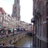 The canal with Die Dom in the background