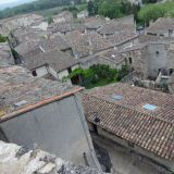 Grignan as seen from above