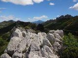 View from atop the Dentelles de Montmirail