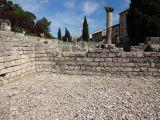 Ancient Roman ruins in Romaine-la-Vaiselle