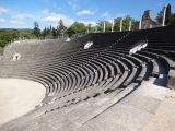 Ancient Roman amphitheatre in Romaine-la-Vaiselle