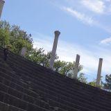 Ancient Roman amphitheatre in Romaine-la-Vaiselle