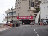 The entrance to the Grand Prix circuit racing tunnel