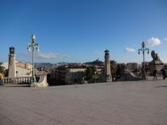 View of Marseille from Gare St. Charles