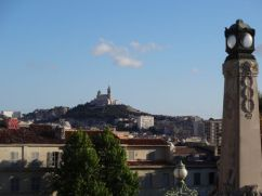 View of Notre Dame de la Garde from Gare St. Charles