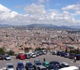 Panoramic of Marseille seen from Notre Dame de la Garde
