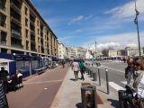Streets alongside the Vieux Port