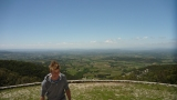 View of the Drôme region