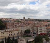 Panoramic of Montpellier from above
