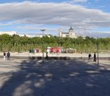 Panoramic of Madrid parks