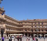 Panoramic of Plaza Mayor