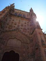 Architectural details of the Catedral Nueva de la Asunción de la Virgen