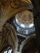 Interior of the Catedral Nueva de la Asunción de la Virgen