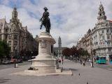 Main square of Oporto