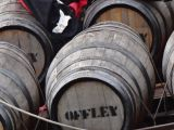 Barrels of Port wine to be shipped