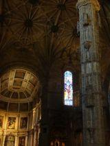 Interior of the Mosteiro dos Jerónimos