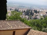 Granada as seen from the Generalife