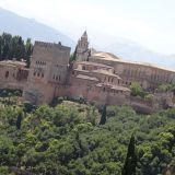 The Alhambra as seen from Mirador S. Nicolas