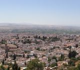 Panoramic of the view from Mirabel S. Nicolas