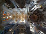 Interior of La Sagrada Família