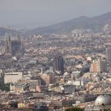 Barcelona as seen from Parc de Montjuïc