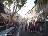 Streets of Avignon during the Festival d'Avignon
