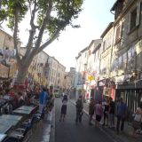Streets of Avignon during the Festival d'Avignon