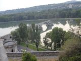 Pont d'Avignon on the Rhône
