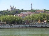 Basilique Notre-Dame de Fourvière overlooking Le Rhône