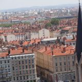 Lyon behind l'Eglise Saint Georges