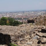 View of Lyon from the ancient Roman Ruins