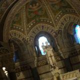 Interior of the Basilique Notre-Dame de Fourvière