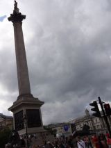 Nelson's Column at Trafalgar Square