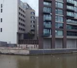 Panoramic of Bristol on the Floating Harbour