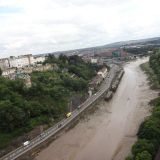 The River Avon as seen from the Clifton Bridge