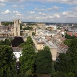 Wills Memorial Building as seen from Cabot Tower