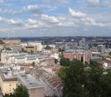 Panoramic of Bristol from above