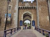 Entrance to the Cardiff Castle