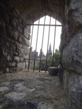 View from inside the Norman Keep